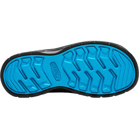 Keen Hikeport Mid WP Shoes Children black/blue jewel